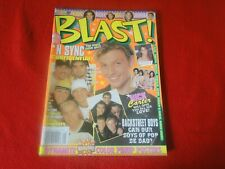 Vintage Teen Pop Rock Magazine 1999 Backstreet Boys, N' Sync with Posters G5