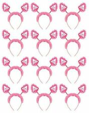 NEW 12 PACK Hen Party Head Boppers Pink Fluffy THIS IS X 12 HEAD BOPPERS