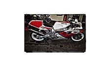 Fzr 750R Motorbike A4 photo Retro Bike