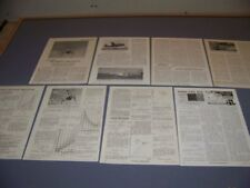 VINTAGE..1948 RAM-JET HELICOPTER..HISTORY/PHOTOS/GRAPHS..RARE! (870N)