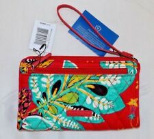 VERA BRADLEY - RFID Front Zip Wristlet  - RUMBA - New with Tag - Phone size