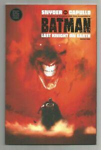 BATMAN: LAST KNIGHT ON EARTH #1 ~ JOCK VARIANT ~ NM 2019 DC COMICS BLACK LABEL