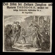 santino grabado 1600 S.TEODORA V. M.