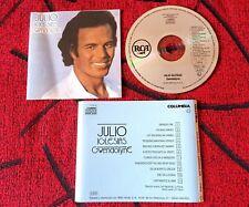 JULIO IGLESIAS *Gwendolyne* ORIGINAL 1st PRESS (RCA) Spain CD 1987 *NO BAR CODE