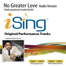 Smokie Norful - No Greater Love - Accompaniment Track