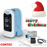 US seller Pulse Oximeter Fingertip with bag Blood Oxygen Finger Meter Heart Rate