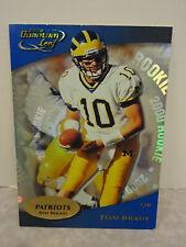 2000 Quantum Leaf #343 Tom Brady New England Patriots ROOKIE CARD