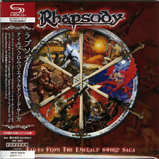 RHAPSODY-TALES FROM THE EMERALD SWORD SAGA-JAPAN MINI LP SHM-CD F83