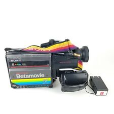 Sony Betamovie Video Camera BMC-220 Betamax Vintage Collectible Decor