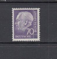 BRD Mi-Nr. 263 xv R - Rollenmarke mit Nummer 0780 ** postfrisch