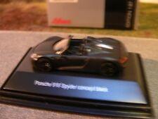 1/87 Schuco Porsche 918 Spyder concept black 45 262 1400