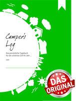 Reisetagebuch: Camper's Log - Tagebuch für WoWa, WoMo, Zelt, Wohnmobil, Camping