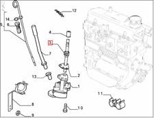 Genuine Brand New Fiat Cinquecento / Panda / Seicento Oil Pump Shaft 46514520
