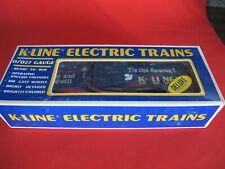 K-line  O-27 gauge Christmas 1988 box car K-6422 brand new in box
