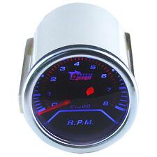 52mm Auto KFZ Drehzahlmesser LED Licht Anzeige Zusatz Instrument RPM Gauge
