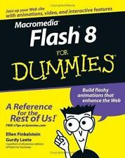 Macromedia Flash 8 for Dummies by Ellen Finkelstein and Gurdy Leete (2005,...