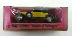 Vintage 1973 Matchbox Models of Yesteryear Y-15 1930 Packard Victoria Diecast