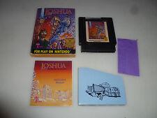 BOXED NINTENDO NES GAME JOSHUA THE BATTLE OF JERICHO COMPLETE WISDOM TREE RARE