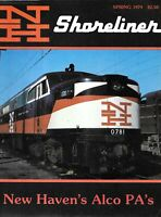 Shoreliner Spring 1979 New Haven Alco PAs Torrington Division Trolley