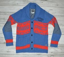 G-STAR DASHER CARDIGAN WOOL BUTTONS WOOL CARDIGAN size L large