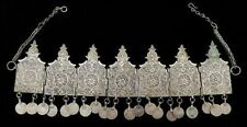 Morocco - Ceremonial wedding tiara in silver composed of seven articulated plate