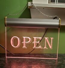 Business Window Lighted Open Sign