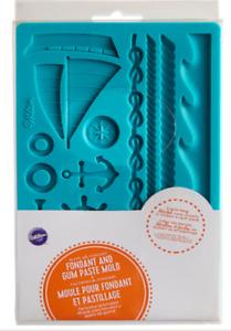 Wilton Fondant & Gum Paste Mold Nautical Theme