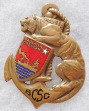 Insigne Indochine BCSC Bataillon Colonial de Saigon Cholon Vietnam ORIGINAL