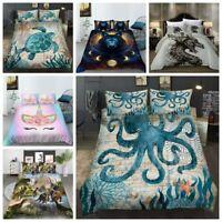 Milsleep 3D Animal Printing Bedding Set Duvet Cover&Pillowcase Queen/King Size