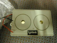 Lynteck Ltd SOUND BOMB TWIN PIEZO SOUNDER 104dB 12 V DC SB1