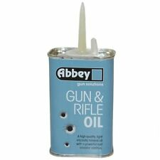 ABBEY GUN  RIFLE CARE LIGHT MINERAL OIL LONG SPOUT TIN AIRSOFT SHOOTING 125ml*-*