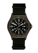 MWC G10BH 12/24 | 50m | PVD Military Watch | Battery Hatch | Super Luminova