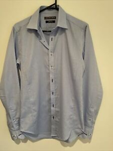 Geoffrey Beene Men's Body Fit Cotton Dress Shirt