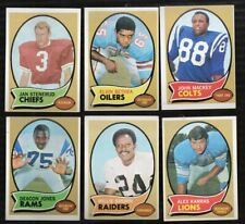 1970 Topps Football Cards Complete Your Set U-Pick #1-263  FREE SHIPPING !!!