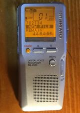 Olympus DS4000 Digital Voice Recorder Hand Held Dictation + Memory Card Ds 4000