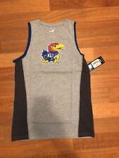 NEW NCAA Kansas Jayhawks athletics shirt Boys Large 14/16