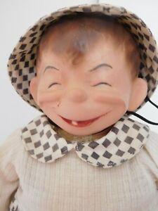 "Vintage Antique 1916 Horsman ""Blink"" Compostion Cartoon Character Orig. Clothes"