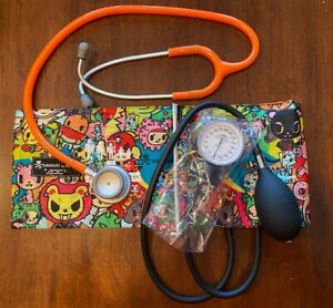 NEW Koi Tokidoki-**Blood Pressure Cuff W-Carrying Case-Abscope Stethoscope Lot--