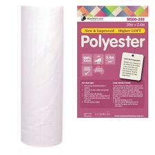 Matilda's Own 100% Polyester Batting Wadding 1.5 metres wide per metre