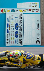 decal figurine Valentino Rossi 06 mugello 1/12 éme convertion minichamps moto gp