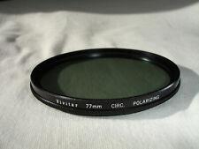 VIVITAR 77mm  circ. Polarizing Filter ,  Japan , Circular Polarizer, POL , PL