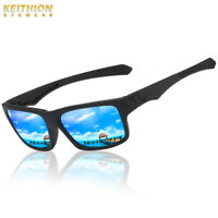 KEITHION Polarized Mens Sunglasses Outdoor Sports Square Eyewear Driving Glasses