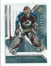 2006-07 SP Authentic Limited #76 Jose Theodore Avalanche 086/100