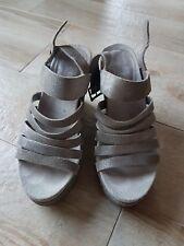 Scarpe donna molto usate 36, sandali alti usate scarpe fetish, zeppa donna usate