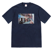 Supreme Hardware Box Logo Tee T-Shirt Navy XL Nas Kermit