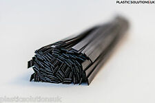 ABS Plastic welding rods (6mm)  black  30 pcs /flat shape strips/