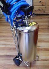 Schaumgerät  Edelstahl 24 Liter Behälter Fahrbar für Druckluftbetrieb