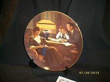 Bradford Exchange Plate Norman Rockwell Father'S Help, General Electric Cp22
