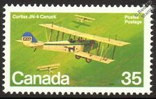 CURTISS JN-4 JENNY / CANUCK Aircraft Mint Canada Stamp