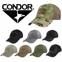 Condor 161080 Tactical Military Combat Flex Fitted Baseball Cap Hat ALL COLORS